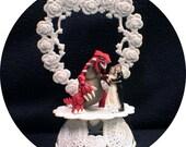 Pokemon Legendary - Groudon YOU PICK Wedding Cake Topper OR Glasses, Knife Set, Guest Book, pen funny