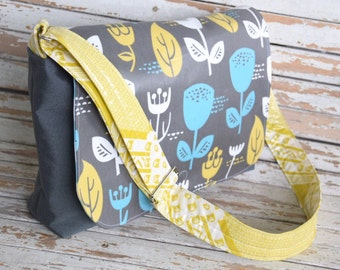 Messenger Bag- Mod Wildflower
