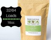 Natural Laundry Powder Detergent Alternative - Laundry Soap - 32/64 Loads - Shady Creek Farm