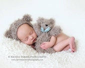Best Buds - Bear Bonnet and Stuffy Set
