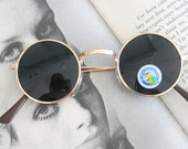 THE ROUND SPECTACLES Sunglasses...uv. lennon. round lens. retro. sunglasses. rad. hipster. urban. rock n roll. party. mod. indie. spectacles