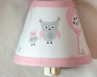 Owl Girls Night Light M2M Pottery Barn Kids Bedding