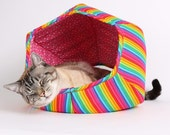 Nyan Cat Rainbow Cat Bed. The Cat Ball Rainbow Cat Bed. Internet Meme