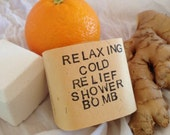 Relaxing Cold Relief Shower Bomb – Spa Treatment – Aromatherapy – Steam Therapy