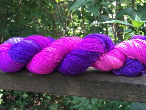 Hand Dyed Yarn, Merino, Cashmere,Hand Painted Sock Yarn, Hand Dyed, Merino, Knit,
