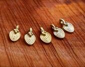 20pc, tribal brass beads, ethnic brass beads, boho beads, india brass, macrame necklace,makrame necklace, loose brass beads, ethiopian, boho
