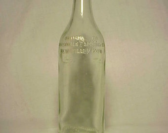 1928 Cloverdale Spring Co. Newville, PA. , Aqua 16 Ounce Soda Bottle
