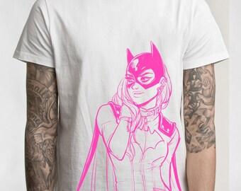 Batgirl T-shirt (Pink!)