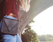 Crossbody Leather Shoulder Bag - Drifter