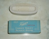 Flowery Pumice Stone, Period Decorating, New Old Stock