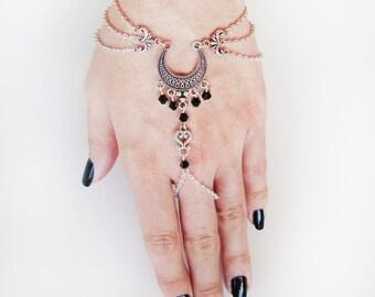 Crescent Moon Slave Bracelet