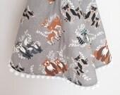 Round play mat, round crib bedding, nursery play mat, round crib, round baby quilt, tee-pee rug, round blanket, customize each detail