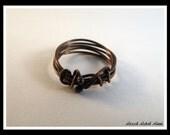 NEW/ Copper Ring / Copper Wire Ring / Small Bangle Ring/ Copper / Ring / Wire Ring - R-001