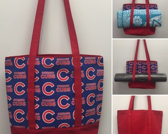 Chicago Cubs  Carry All Tote and Yoga Carrier