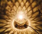 Glass Globe Night Light Accent Lamp