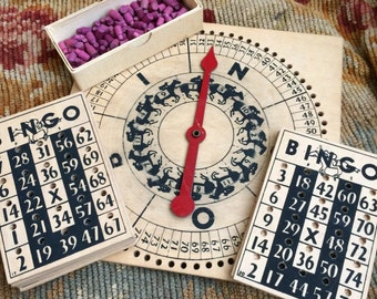 To Bad The Box Wasn't Wooden Too Vintage Swing It Bingo & Horse Racing Game