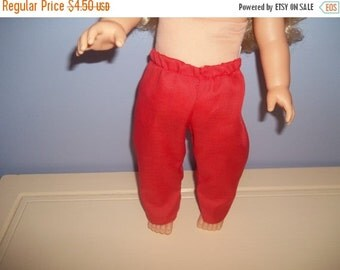 American 18 Inch Doll Clothes pants red