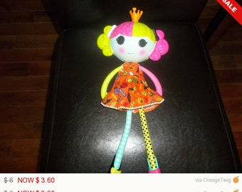 Halloween dress for long Lalaloopsy Doll