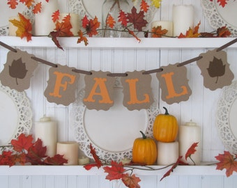 FALL Banner,  Fall Decorations, Fall sign, Autumn banner