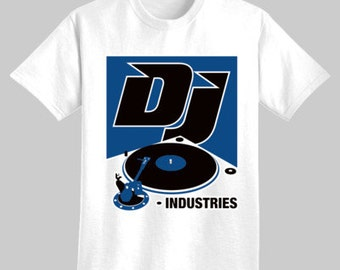 DJ Industries - Turntable -  t-shirt