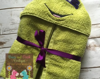 Donatello Hooded Towel (Ready to Ship)