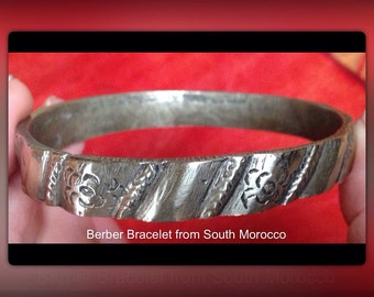 Berber bracelet bangle from S Morroco
