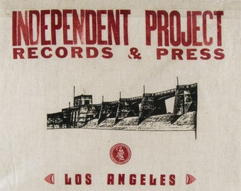 INDEPENDENT PROJECT Records and Printing Press of Los Angeles / and the Band Savage Republic - Collectable Print Shop Rag & Artifacts