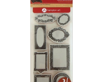 Cling Mounted Rubber Stamps from 7 Gypsies - Vintage Frames