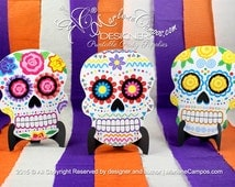 Sugar Skull Invitation, Day of the Dead, Halloween Birthday, Mexican Sugar Skull Party, Sugar Skull Decorations | Printable | PERSONALIZED