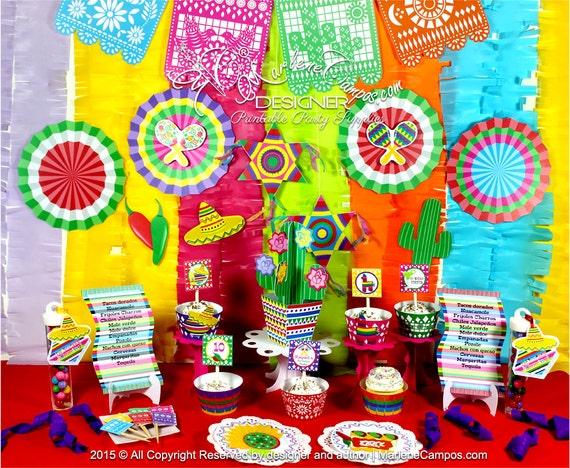 Mexican Fiesta Party Mexican fiesta birthday party 5 de mayo