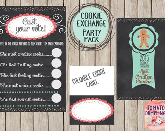 Cookie Exchange Party Pack