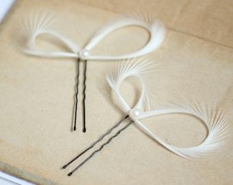 Pearl Hair Pins, Bridal Hair Pins, Wedding Hair Pins, Bridesmaid Gift, Bridal Hair Accessories, Set of 2, Prom, Maid of Honor