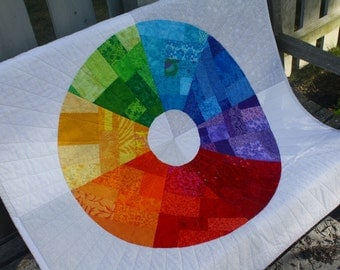 Wall Quilt - Color Wheel
