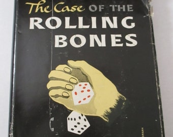 The Case of the Rolling Bones Erle Stanley Gardner Perry Mason Mystery Book Hardcover Book YourFineHouse ShipsInternationally