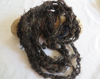"""175"""" Wool Chain Scarf or Necklace"""
