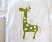 Giraffe Bodysuit - Gender Neutral Onesie