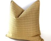 Gold Pillow Cover Stripe Throw Pillow Cover Decorative Pillow 22x22 20x20 18x18 16x16 12x24 12x21 12x18 12x16 10x20