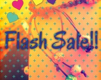 Flash sale!! All murano glass beads on sale!