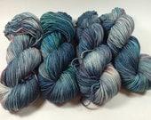 Light Worsted, DK, Superwash Merino, 100 grams, Hand Dyed Yarn, Pennsylvania Polka, double knitting, spring yarn, dk weight