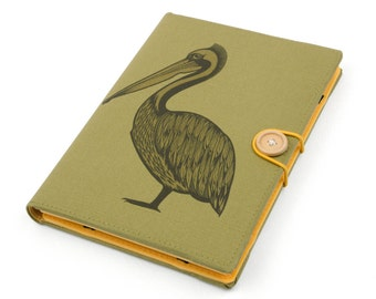 Pelican / iPad mini case, Kindle case, iPad mini cover, kindle cover, Kindle paperwhite case, voyage, Kobo, arc, aura, case, cover, handmade