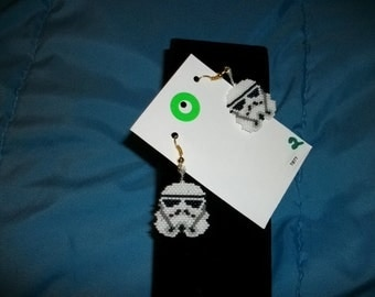 Star Wars Storm Trooper 2 Earrings