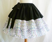 London Underground Map Skirts By Rooby Lane