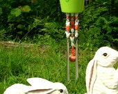 Wind Chimes with Bunny Rabbit Decor