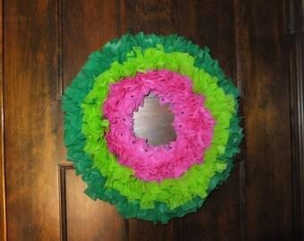 Watermelon Fiesta Wreath