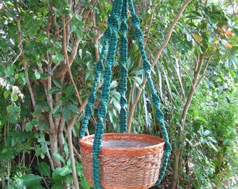 Forest 39 1/2 Inch No Beads Macrame Plant Hanger