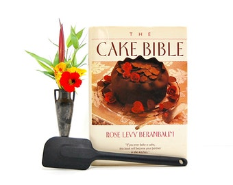 1988  Cake Bible Rose Levy Beranbaum Best Cake Recipes 1980s Cookbook Learn To Bake Master Baker Ultimate Recipe Cakes Frostings Fondants