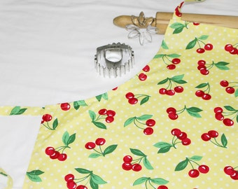 Yellow Cherry Adult Apron
