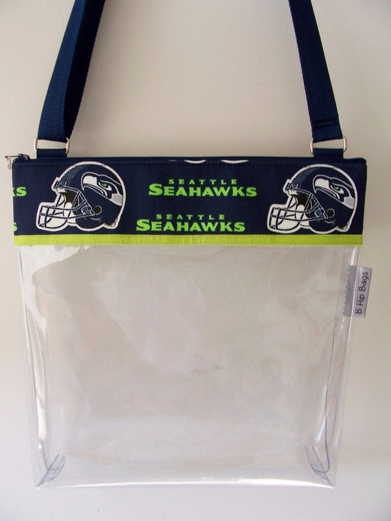 cross body nfl seattle seahawks clear transparent stadium