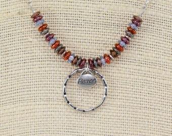 Badge holder, eyeglass holder, badge holder necklace, ID lanyard, gift for nurses, teacher gift idea, lanyards
