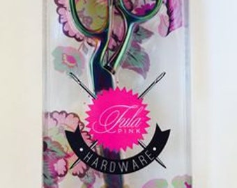 ON SALE Tula Pink Hardware Shear 8 inch Left Handed